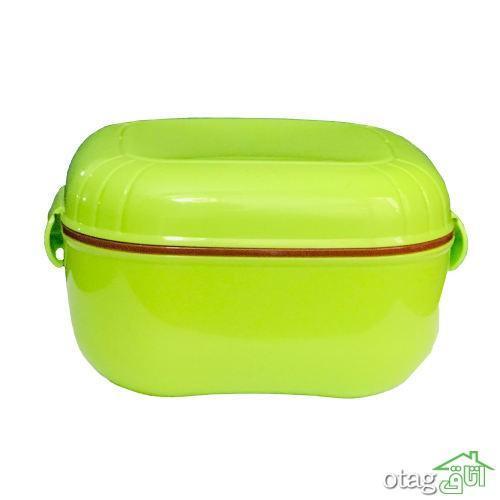 خرید 41 مدل ظرف غذا سفری شیک [ فلزی ، شیشه ای، پلاستیکی ] با تخفیف