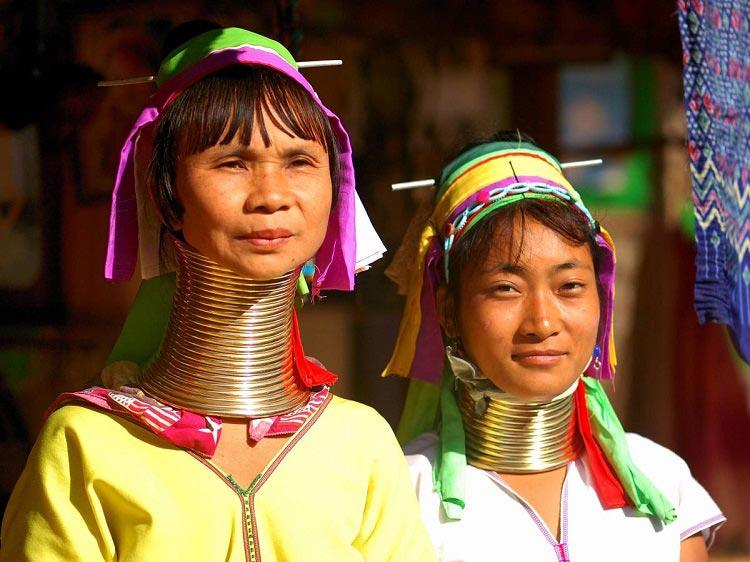 قبیله زنان گردن دراز تایلند